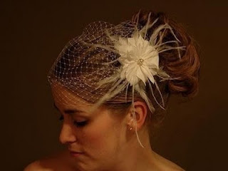 wedding headpieces and veils for short hair