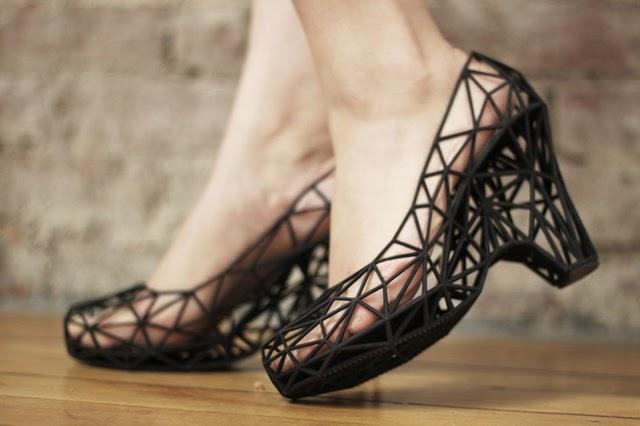 Jak projektuje się buty - metoda druku 3D