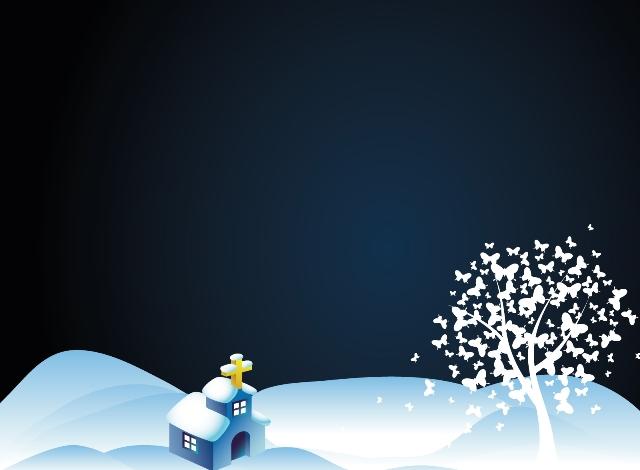 santa sky snow wallpaper - photo #12