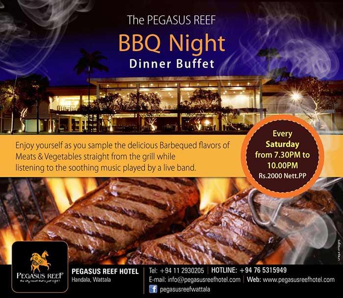 Pegasus Reef BBQ Night Dinner Buffet