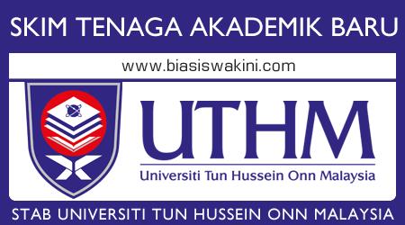 SKIM Tenaga Akademik Baru Universiti Tun Hussein Onn Malaysia Johor