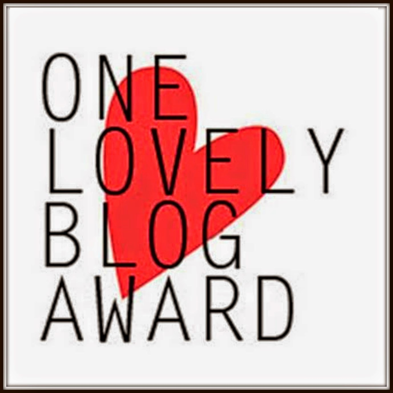 Imagen del premio Premio One Lovely Blog Award.
