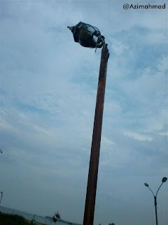 Kerusakan fasilitas lampu taman, Fasilitas umum yang rusak.