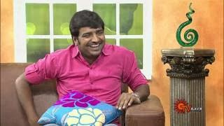 Virundhinar Pakkam – Actor Sathish – Sun TV Show 25-10-2013