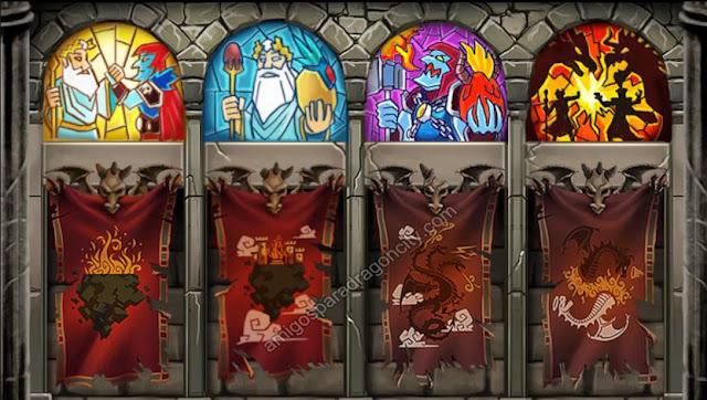 imagen del resultado de la isla calabozo de dragon city