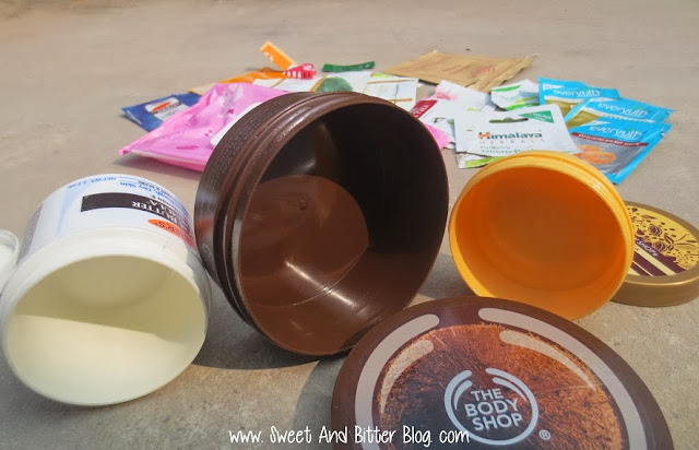 Empty Body Butter Tub Containers