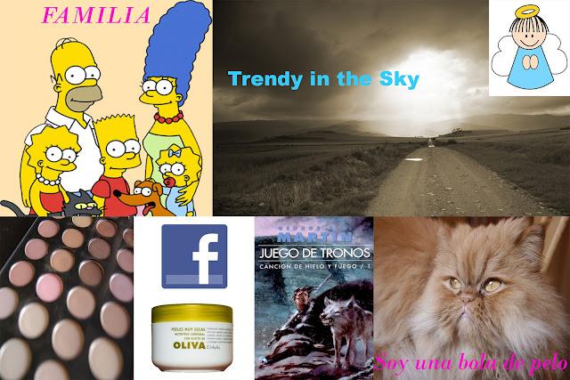 Cosas sobre Trendy in the Sky: Familia, gato, Canción de Hielo y Fuego, crema Deliplus