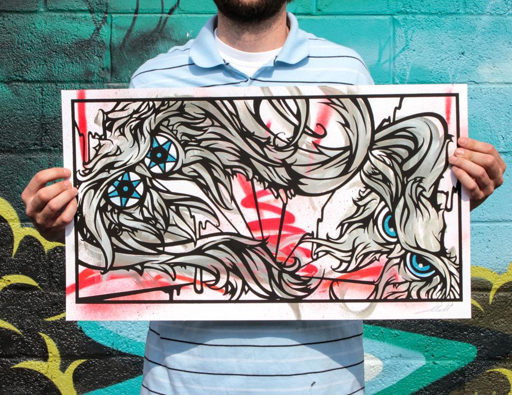 INSIDE THE ROCK POSTER FRAME BLOG: Graffiti Artist Malt's