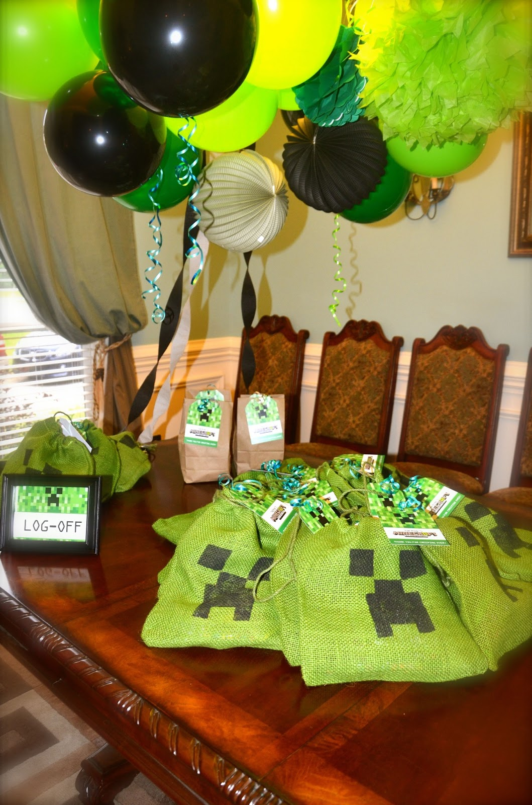Minecraft Birthday Party Ideas And Invitations July 2013