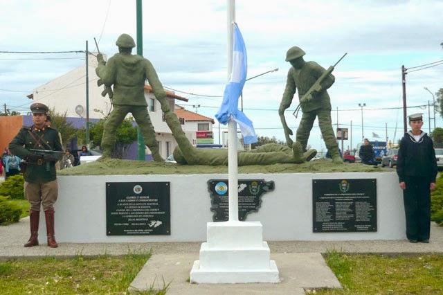 La FAE3 presente en la conmemoración por el 2 de abril