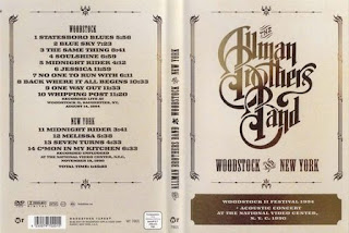 dvd konser musik The Allman Brothers Band - Woodstock & New York (2007), jual dvd konser, live musik, musik video,