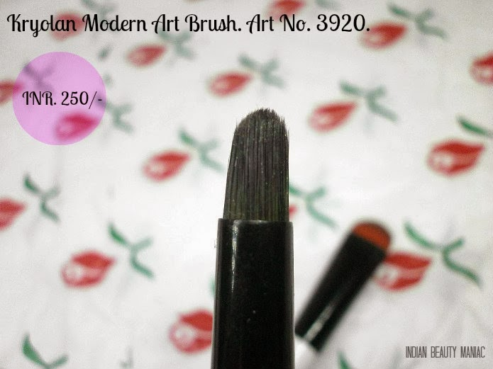 Kryolan Modern Art Brush Art No. 3920 smudger brush eye makeup