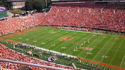 the Ripening, drinking only water, Death Valley, Clemson Tigers