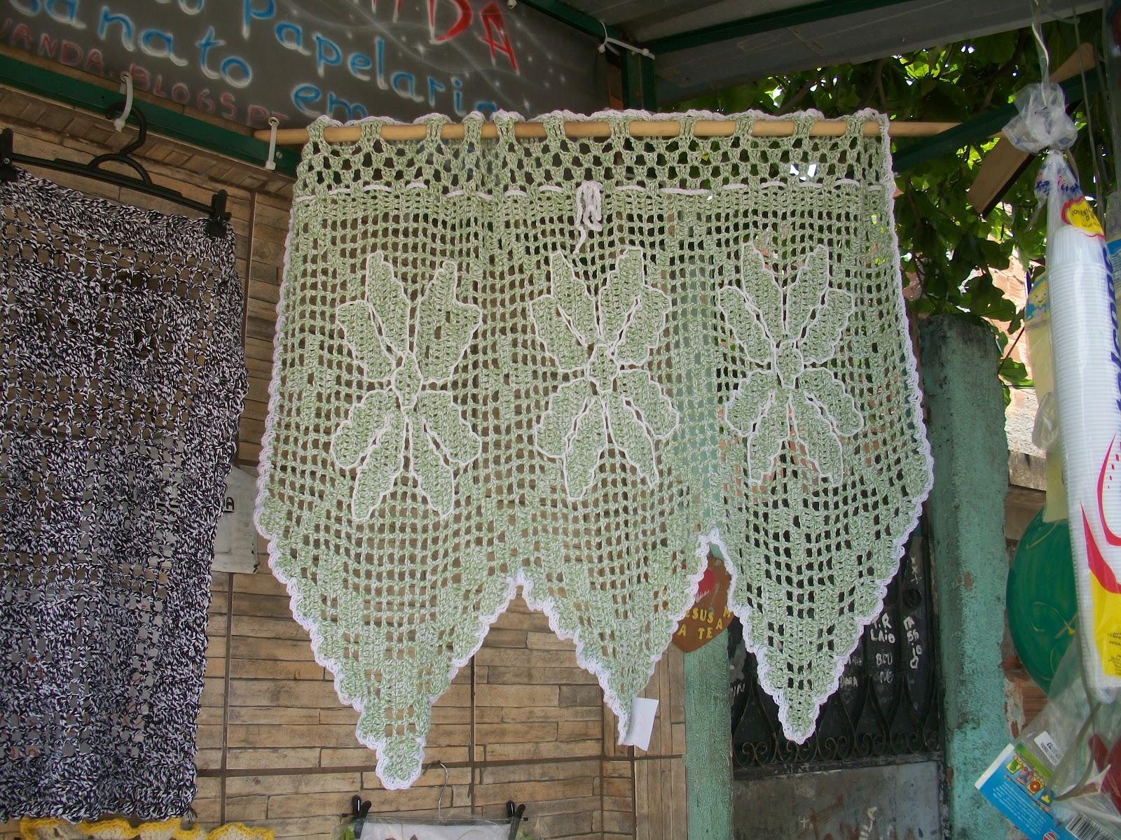 Cortina Em Croch Art S Nanda