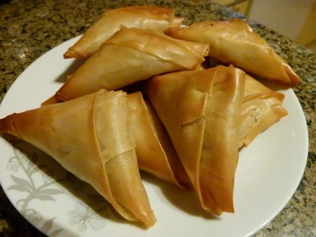 Ägyptische Rezepte - Sambussa- Samboussa- Filloteig - Fleisch