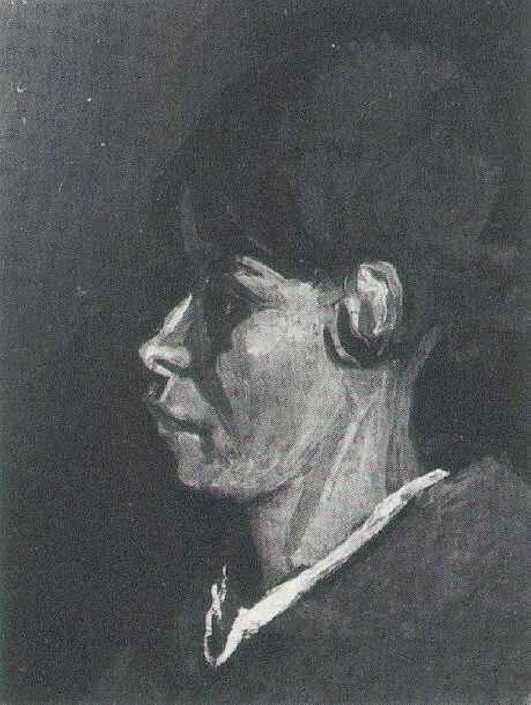 Head of a Peasant Woman (F 132, JH 574) by Vincent van Gogh