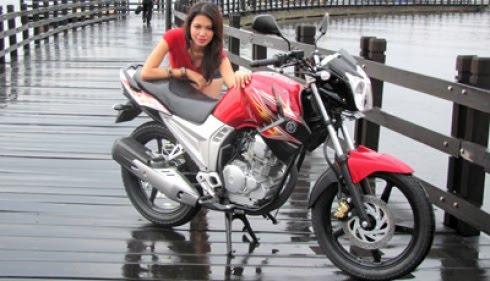 Budi Pandansari  New Yamaha Scorpio 2012