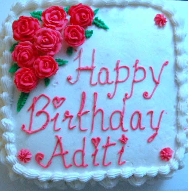 Anushka Birthday Cake