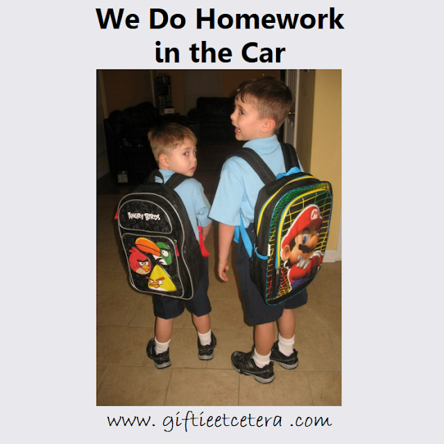 parenting, homework, kids with backpacks