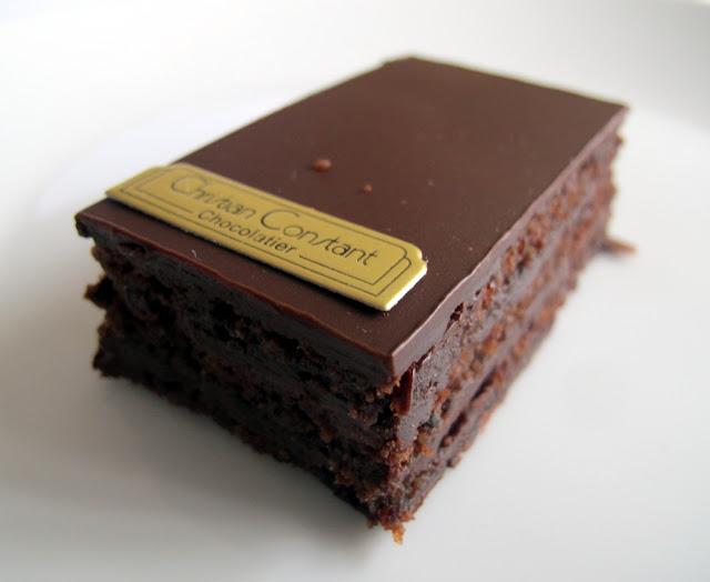 Pâtisserie Christian Constant Paris - Entremet Macao rhum-chocolat