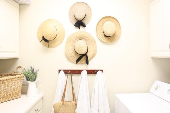 Nancy 39 s daily dish beautiful ways to decorate with hats - Decoracion de sombreros ...