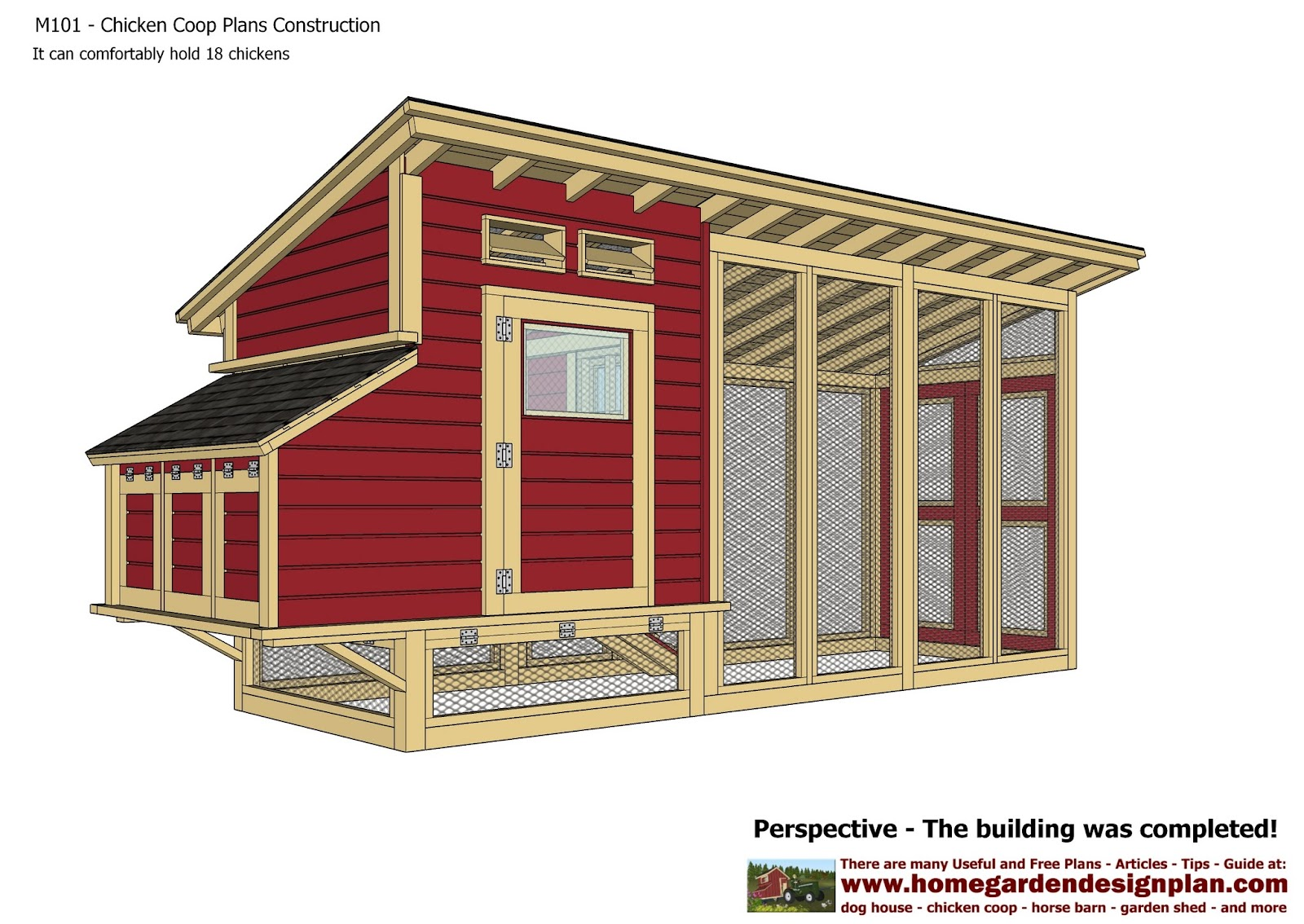 Knowing chicken coop building 101 plan for build chicken for Free coop plans