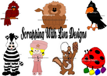 Scrapping with Lisa Designs