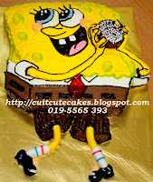 sponge bob square pants- red velvet