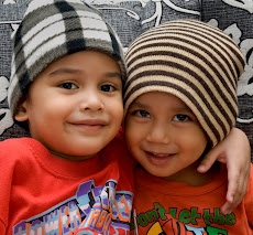 my sons amir & aliff