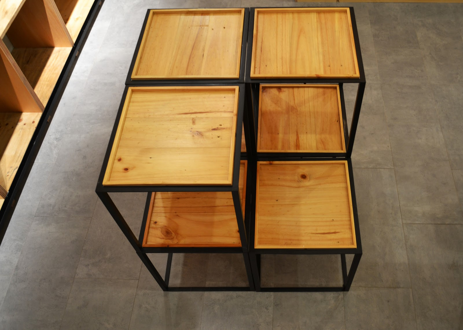 Recycle Pine Wood Furniture Tetawowe Atelier