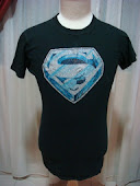VINTAGE SUPERMAN IRON ON 1978..