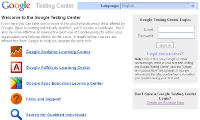 google_testing_center