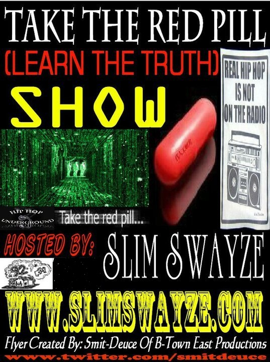 TAKE THE RED PILL SHOW!