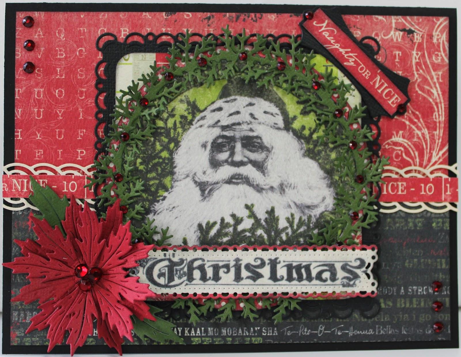 naughty or nice christmas card - Naughty Or Nice Christmas Card