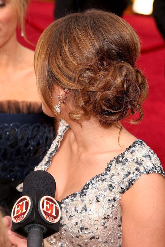 red carpet long hair updo ideas