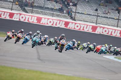 Klasemen Sementara Moto3 Usai GP Indianapolis, Amerika 2015