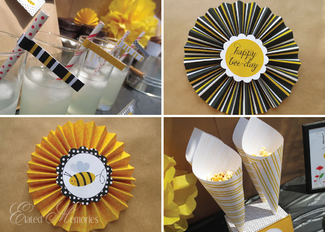 buzz buzz bumble bee printable party
