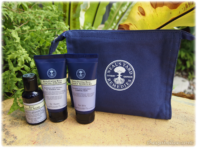 NYR Rehydrating Rose travel kit