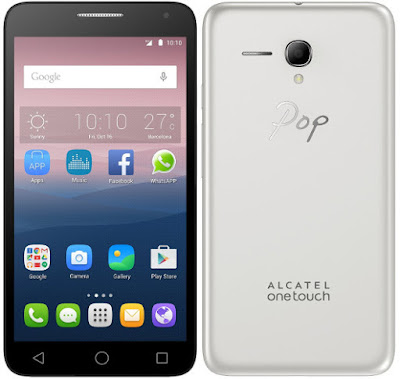 Alcatel One Touch Texting Capital Letters