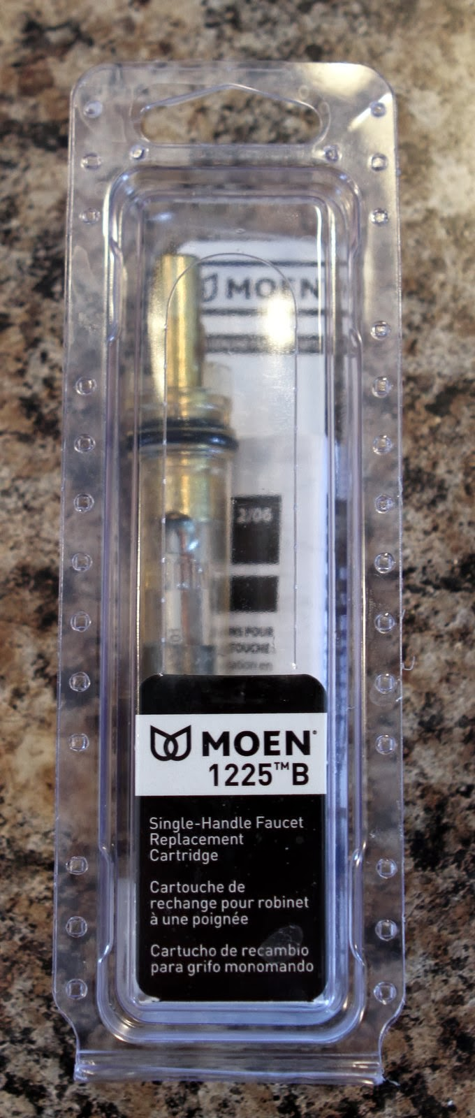moen 1225 kitchen faucet cartridge repair or replacement 1225 cartridge repair kit