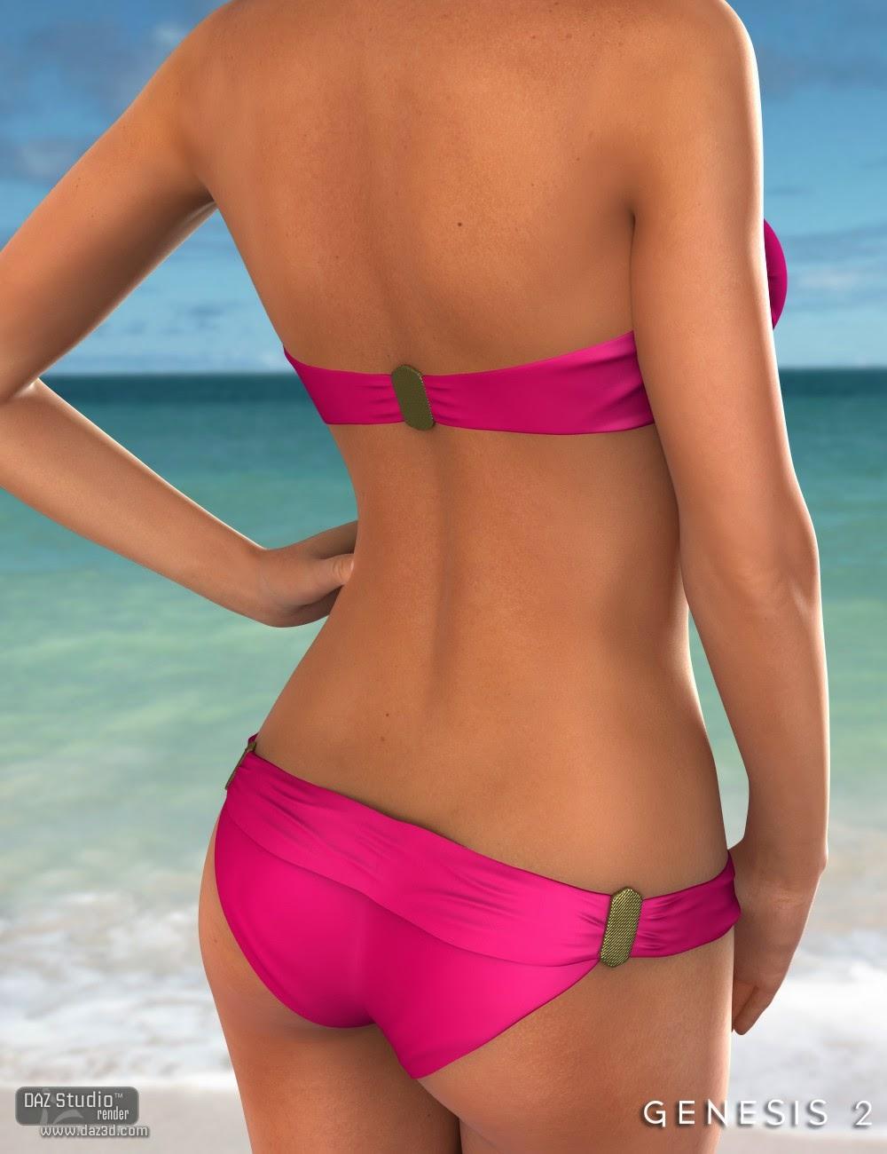 Hottie Bikini HD pour Genesis 2 Femme