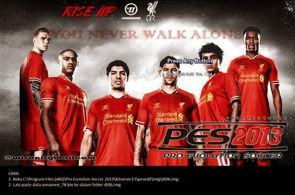 PES 2013 Liverpool Start Screen by No Doong