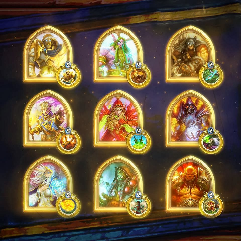 hearthstone gold hero