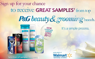 Free P&G Beauty Samples