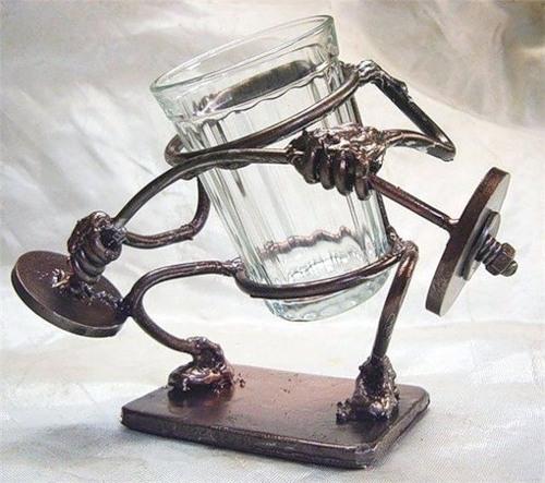 поделки из гранёного стакана