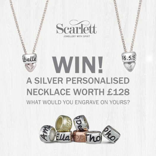 Win a Personalised Mojo Necklace