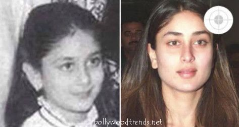 kareena kapoor childhood photos bollywood trendsthe