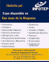 INFOTEP CUPO DISPONIBLE