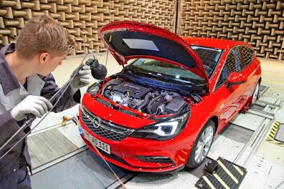 Το νέο Opel Astra στο εργαστήριο ακουστικής
