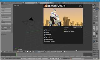 برنامج بلندر لتصميم افلام كرتونية download blender 2.67b